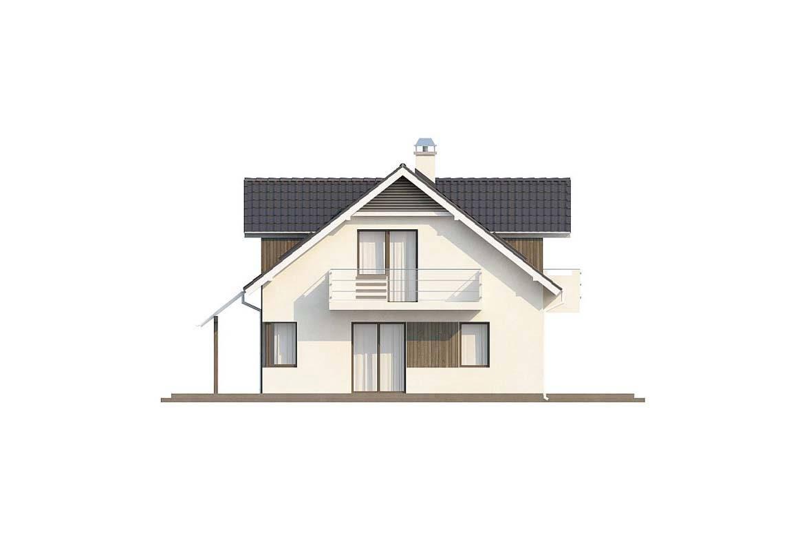 Проект дома из блоков АСД-1818 (uploads/gss/goods/839/big_6.jpg).