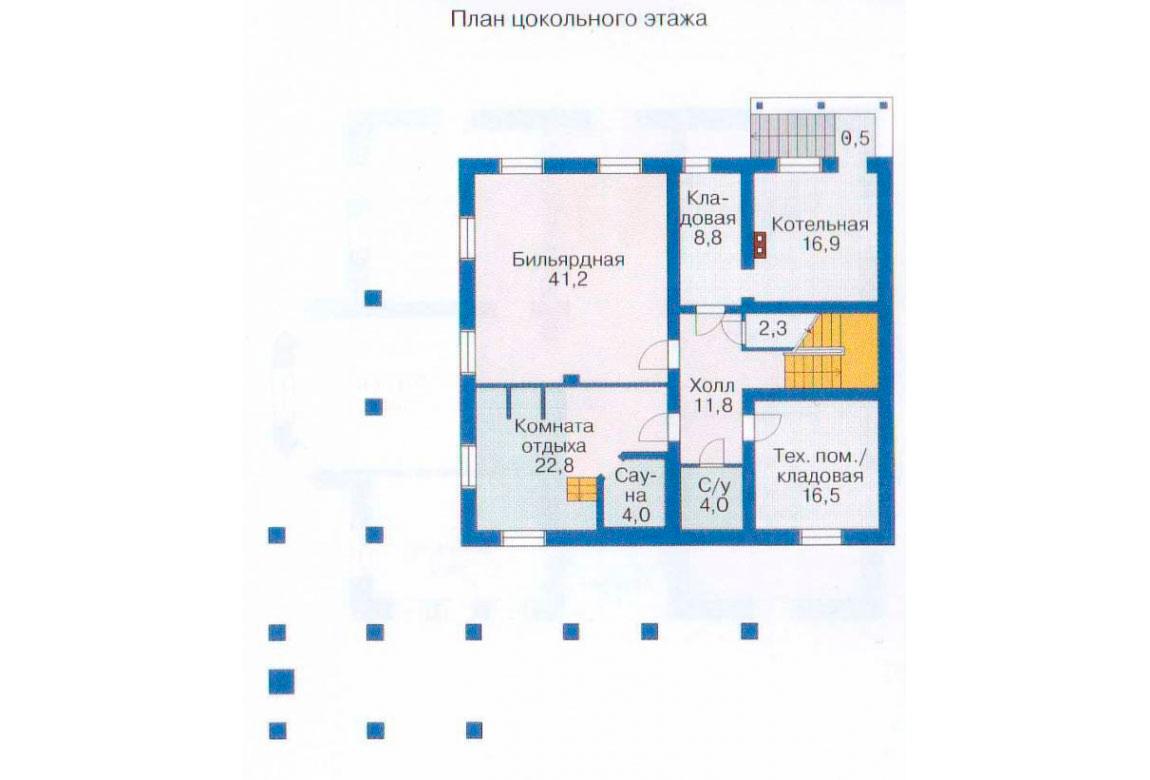 План N1 проекта ВИП дома АСД-1084