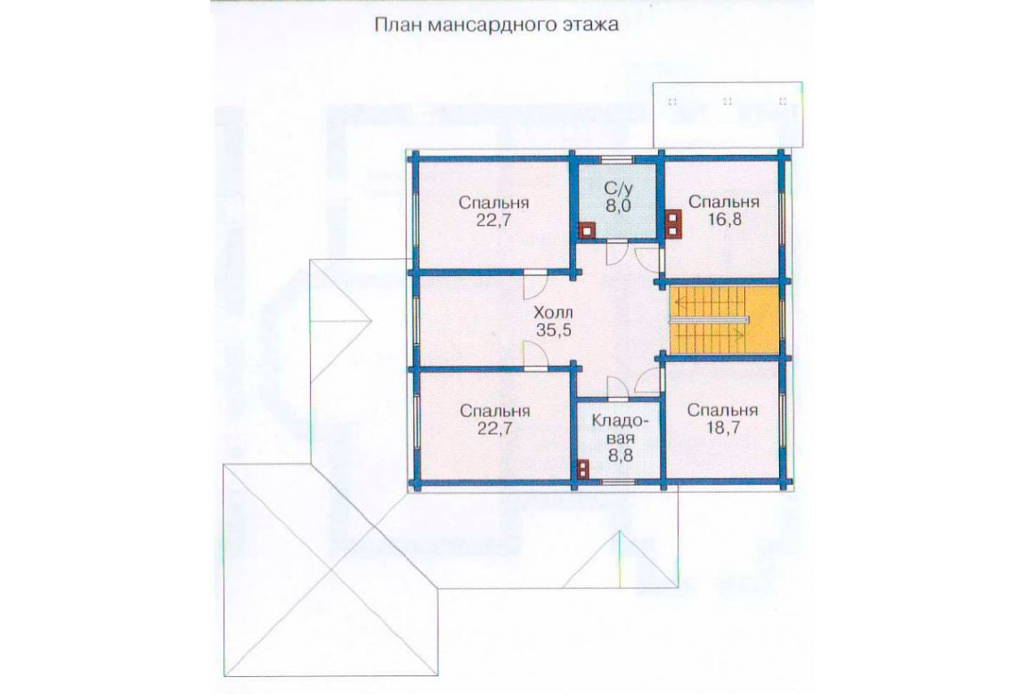 План N3 проекта ВИП дома АСД-1084