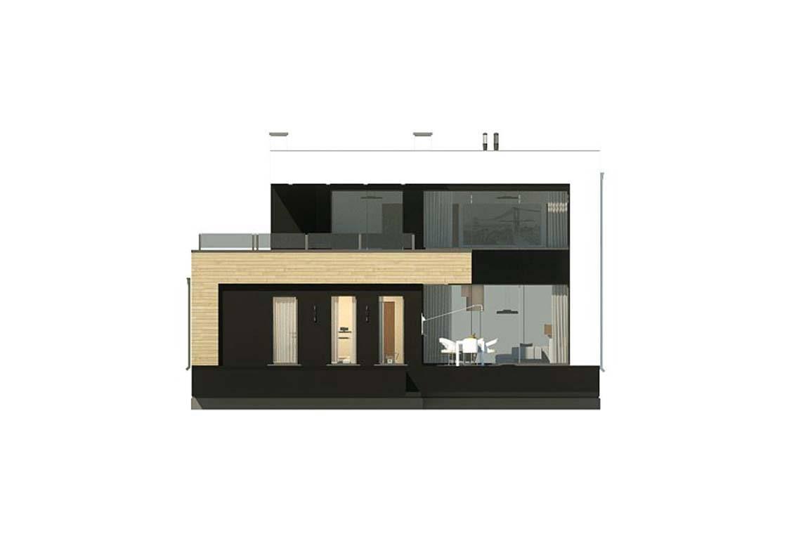 Проект дома из блоков АСД-1822 (uploads/gss/goods/843/big_8.jpg).