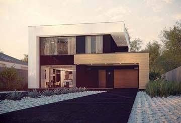 Проект дома из блоков АСД-1822