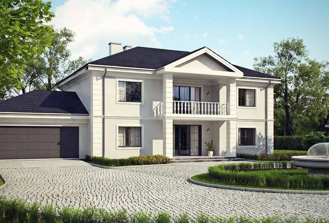Проект дома из блоков АСД-1823 (uploads/gss/goods/844/big_1.jpg).