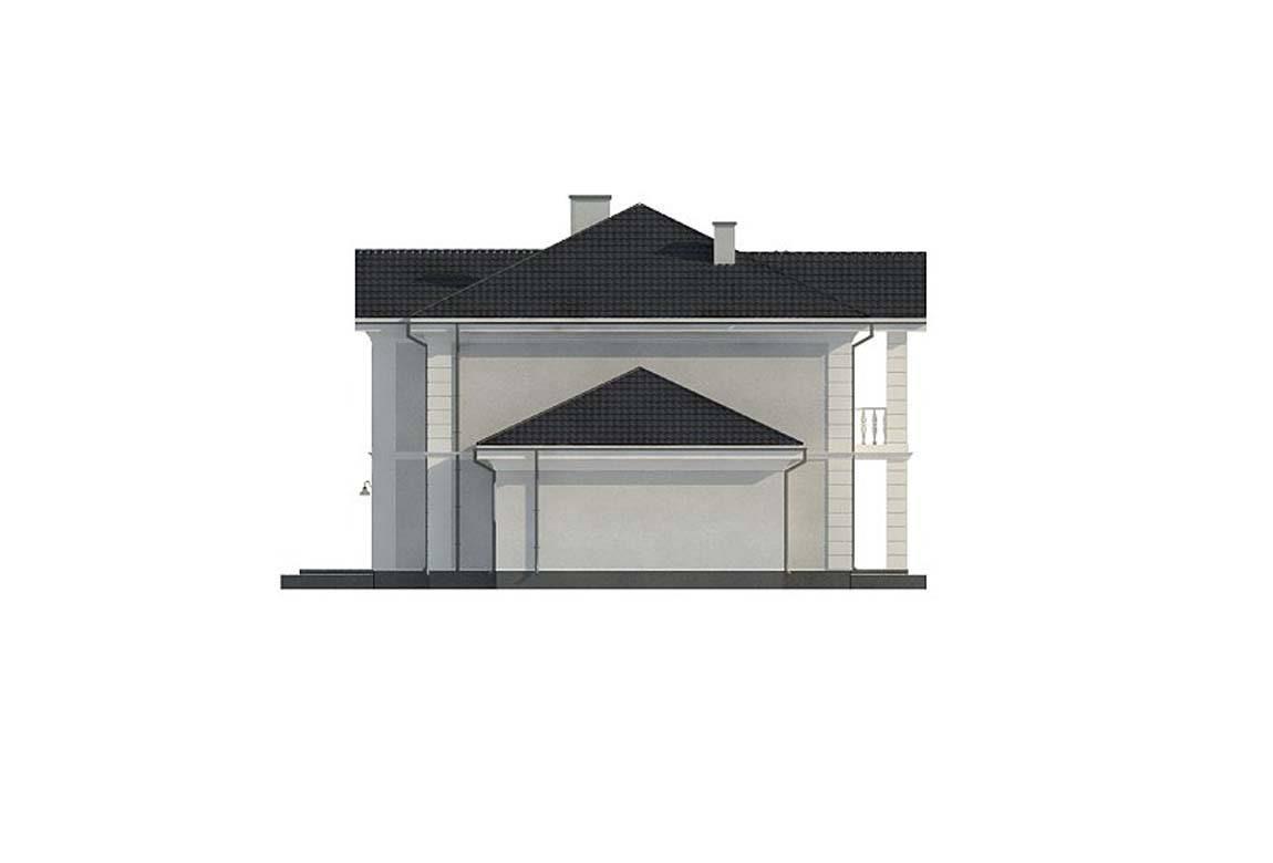Проект дома из блоков АСД-1823 (uploads/gss/goods/844/big_10.jpg).