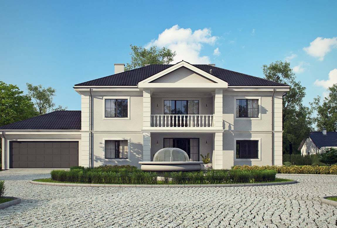 Проект дома из блоков АСД-1823 (uploads/gss/goods/844/big_4.jpg).