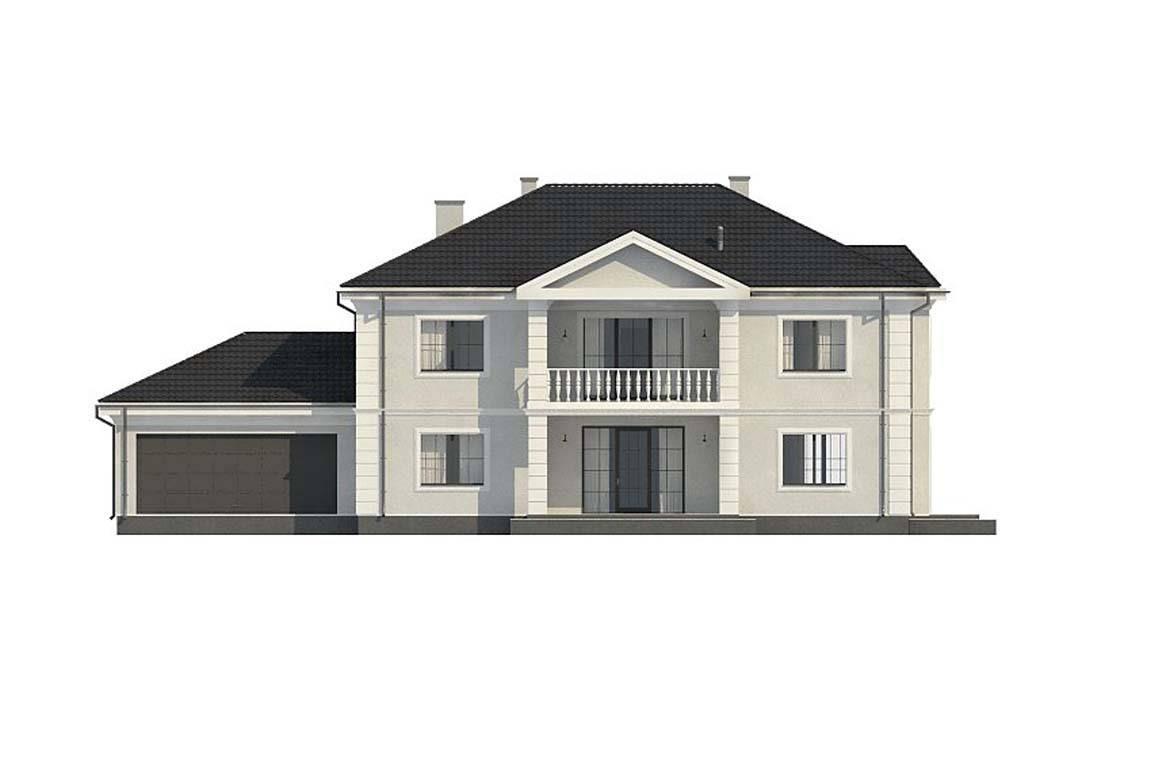 Проект дома из блоков АСД-1823 (uploads/gss/goods/844/big_7.jpg).