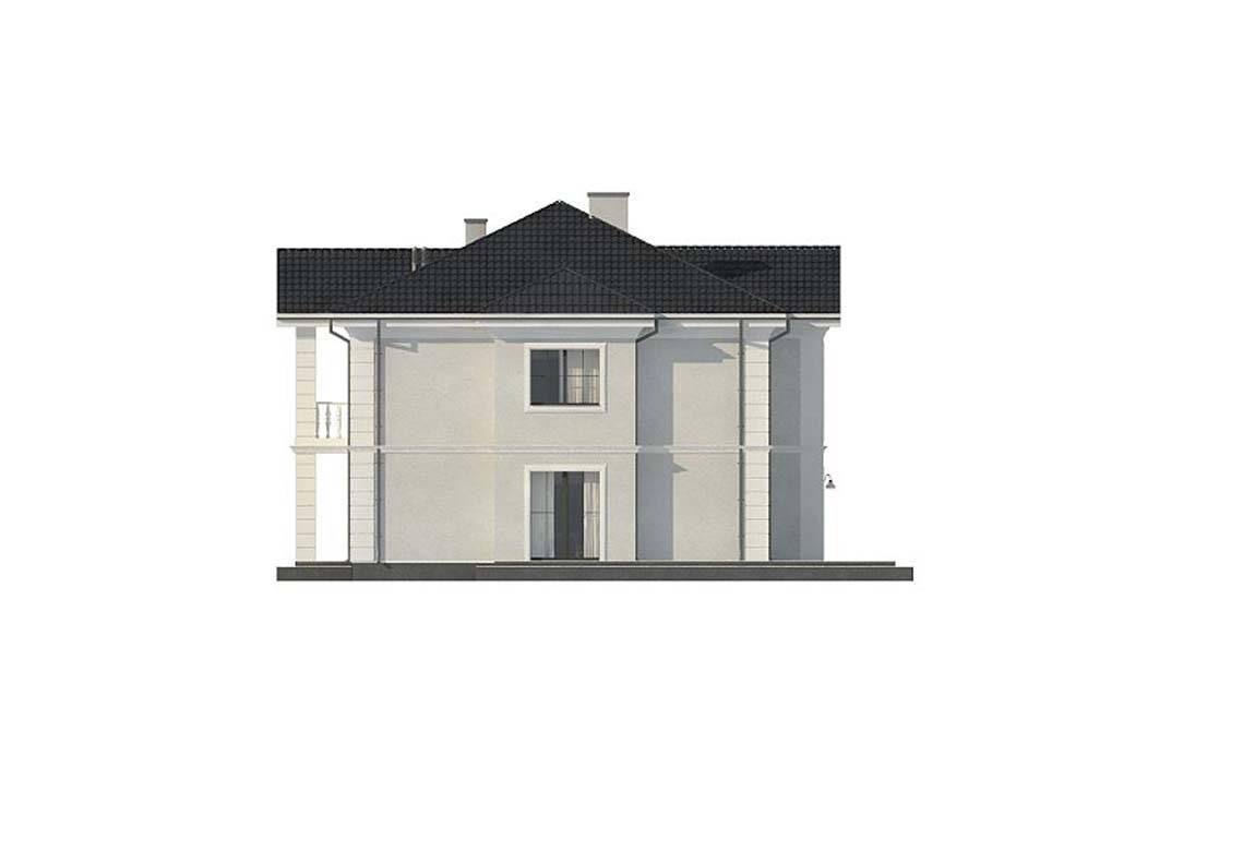 Проект дома из блоков АСД-1823 (uploads/gss/goods/844/big_9.jpg).