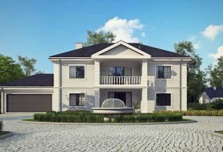 Проект дома из блоков АСД-1823 (uploads/gss/goods/844/thumb_4.jpg).