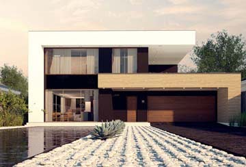 Проект дома из блоков АСД-1827