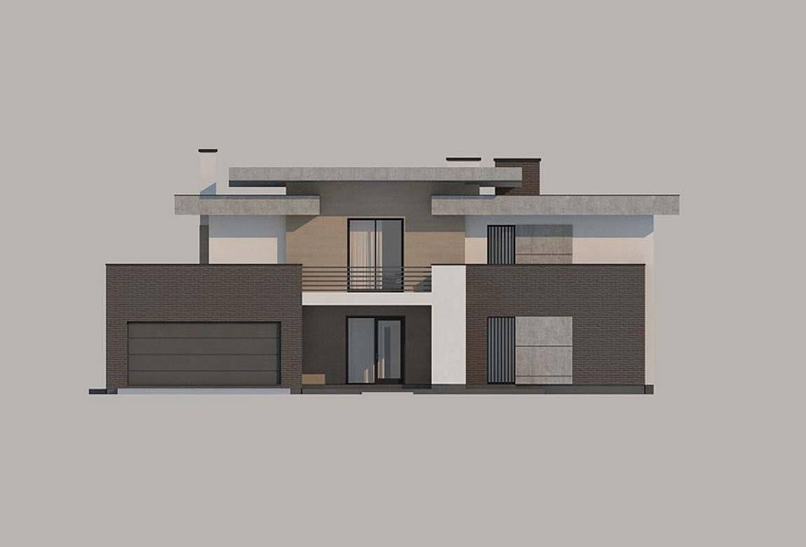 Проект дома из блоков АСД-1828 (uploads/gss/goods/849/big_7.jpg).