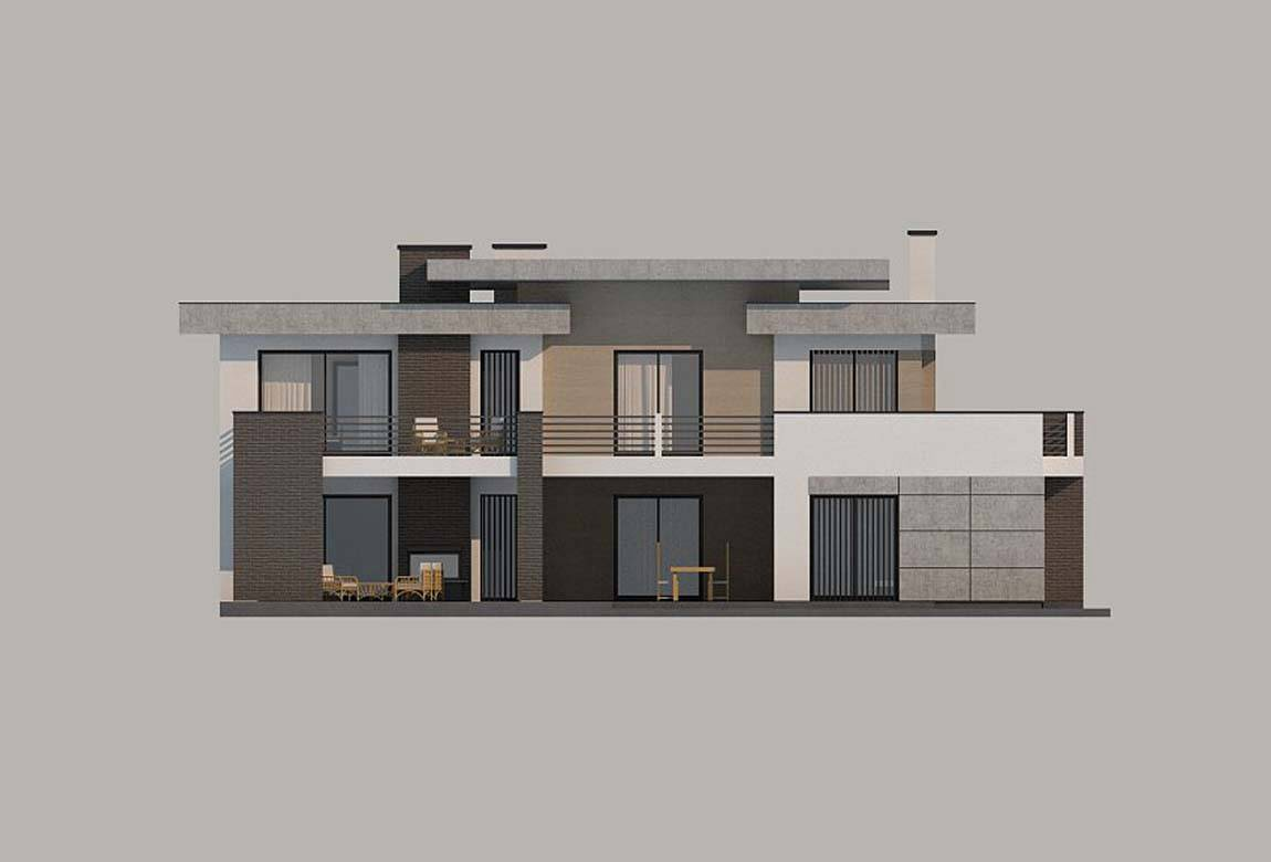Проект дома из блоков АСД-1828 (uploads/gss/goods/849/big_8.jpg).