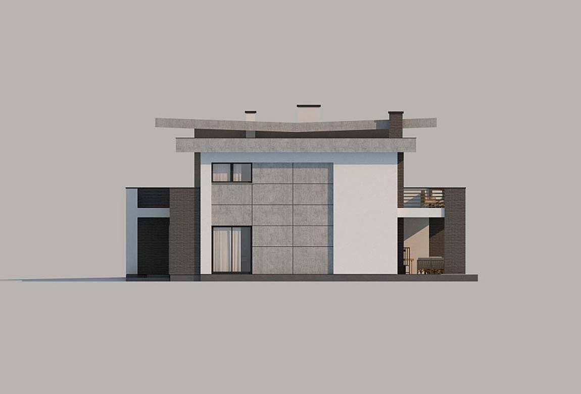 Проект дома из блоков АСД-1828 (uploads/gss/goods/849/big_9.jpg).