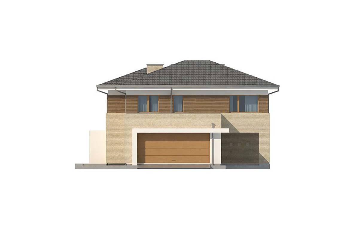 Проект дома из блоков АСД-1853 (uploads/gss/goods/854/big_7.jpg).