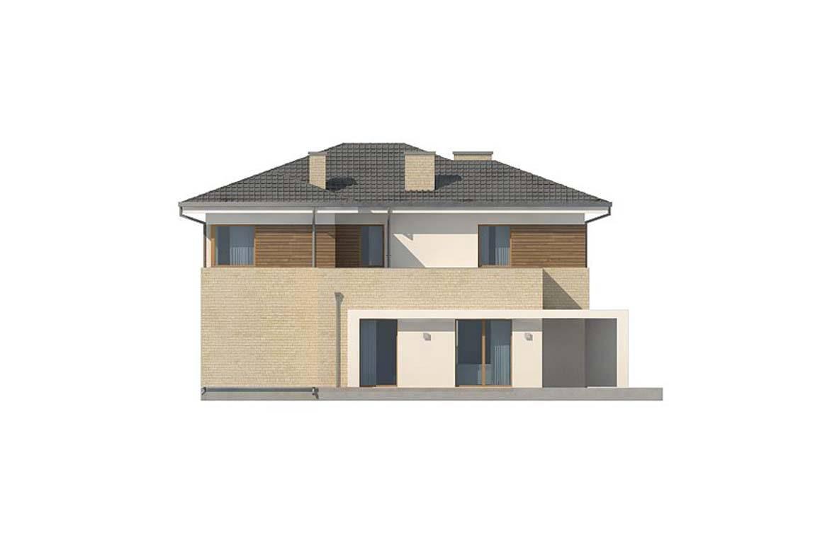 Проект дома из блоков АСД-1853 (uploads/gss/goods/854/big_8.jpg).