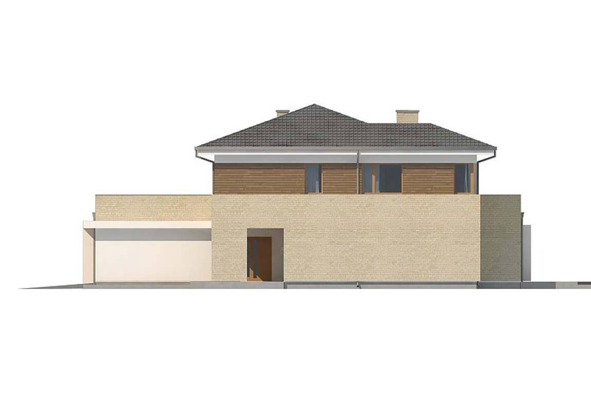 Проект дома из блоков АСД-1853 (uploads/gss/goods/854/big_9.jpg).