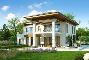 Проект дома из блоков АСД-1834