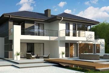 Проект дома из блоков АСД-1836