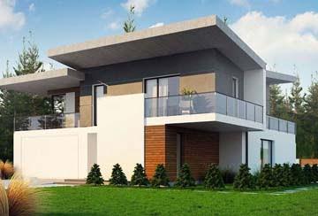Проект дома из блоков АСД-1837
