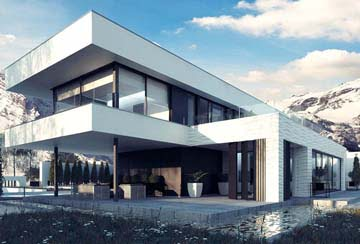 Проект дома из блоков АСД-1838