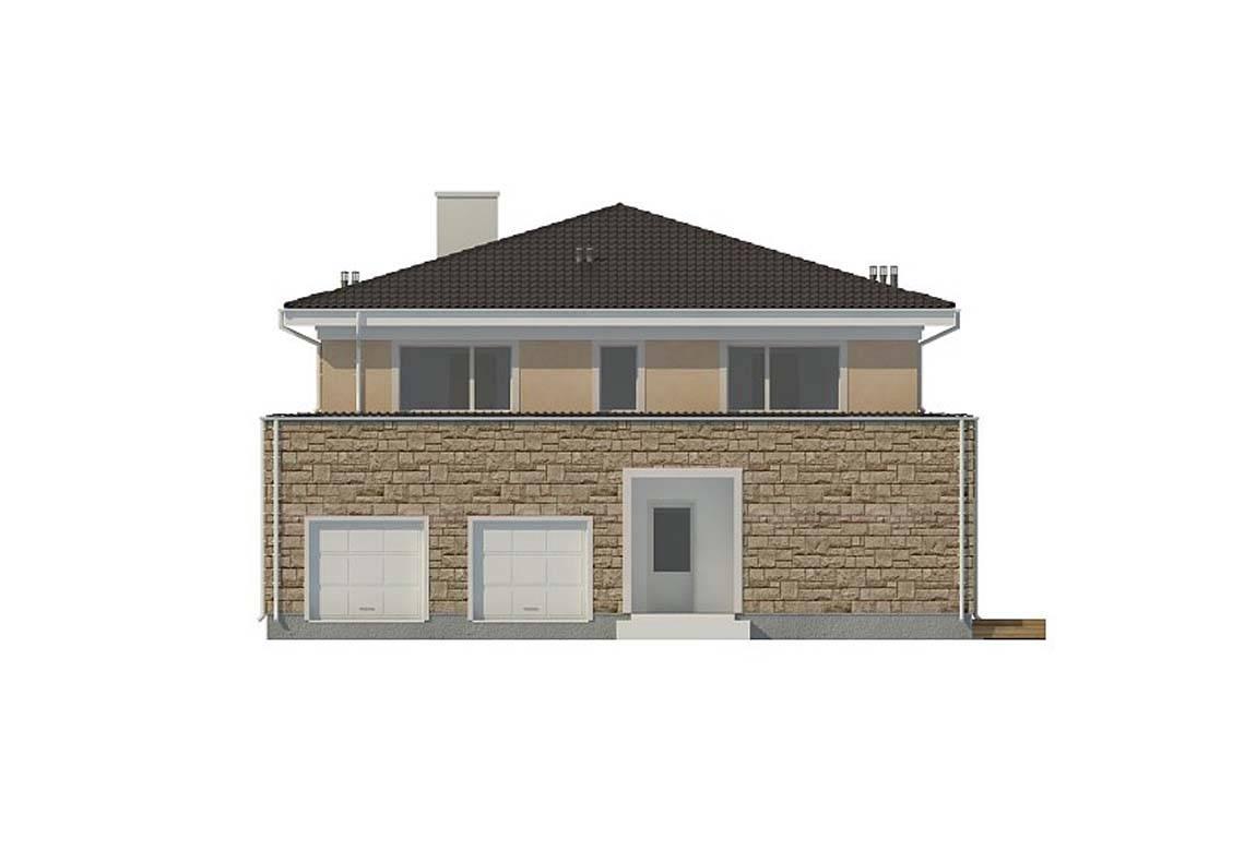 Проект дома из блоков АСД-1839 (uploads/gss/goods/860/big_6.jpg).