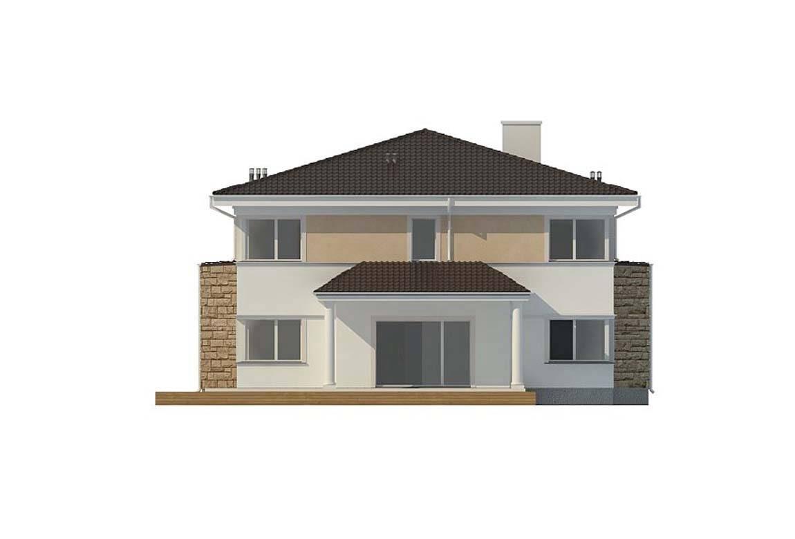 Проект дома из блоков АСД-1839 (uploads/gss/goods/860/big_7.jpg).
