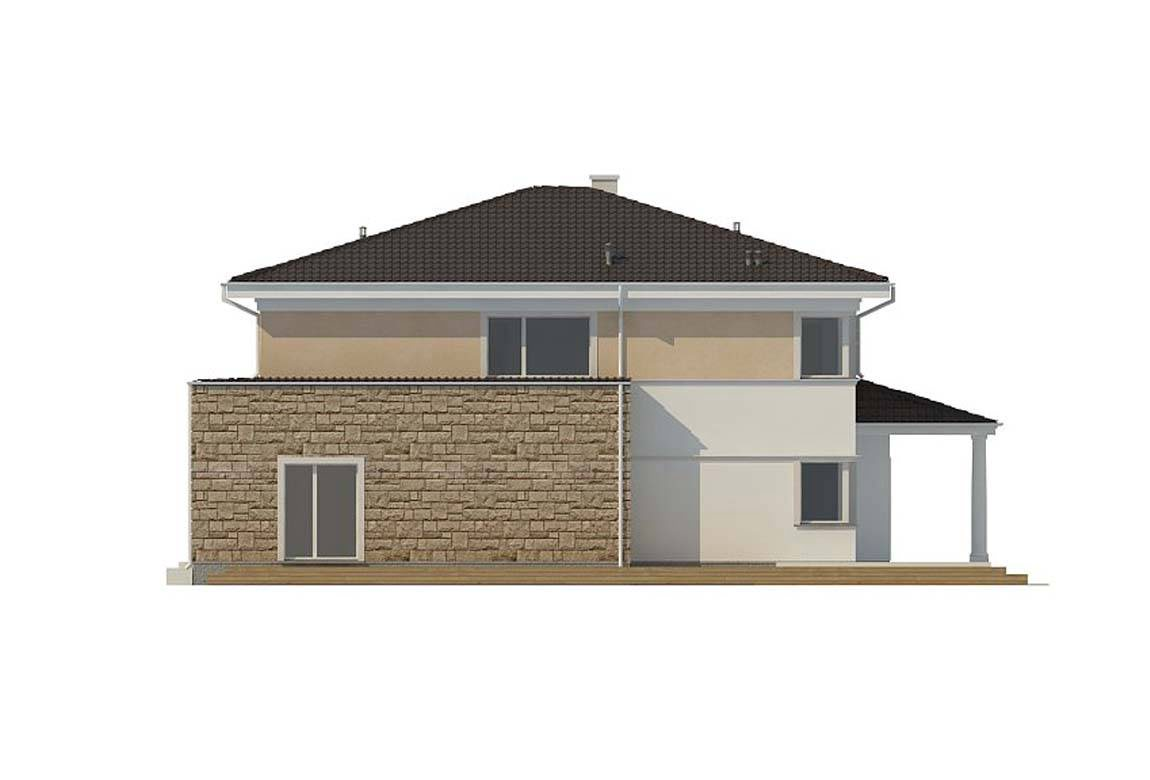 Проект дома из блоков АСД-1839 (uploads/gss/goods/860/big_8.jpg).