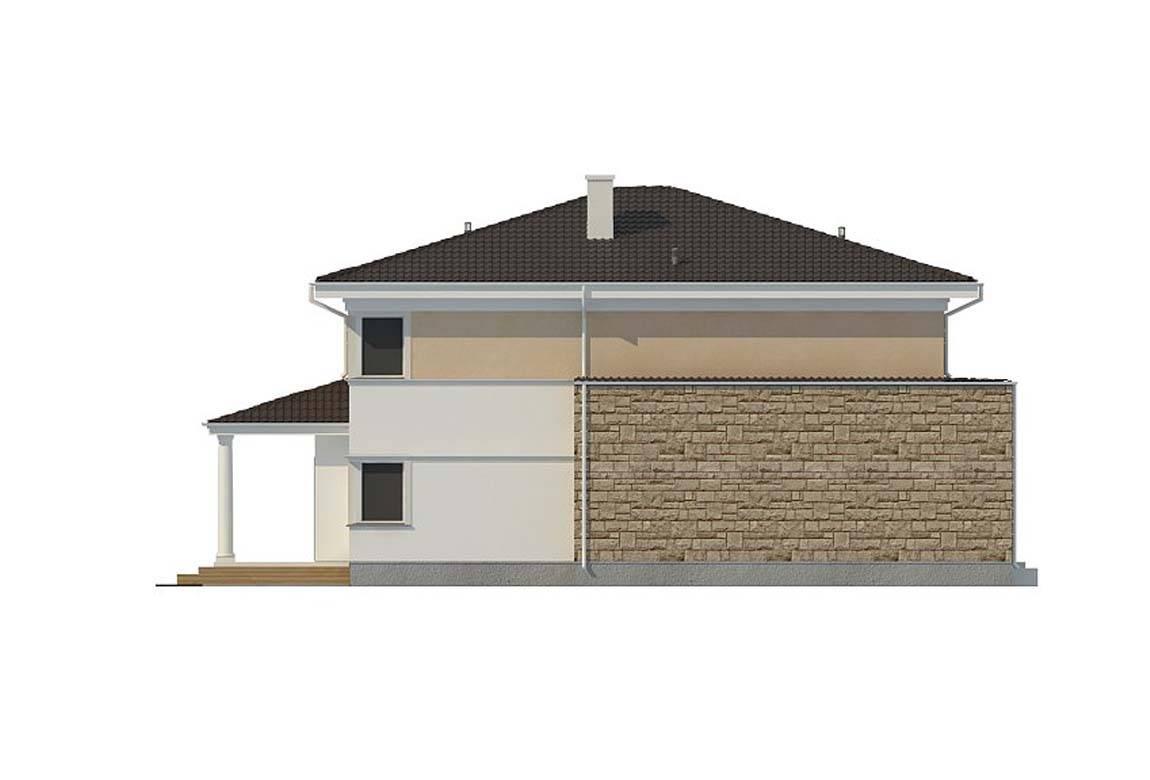 Проект дома из блоков АСД-1839 (uploads/gss/goods/860/big_9.jpg).
