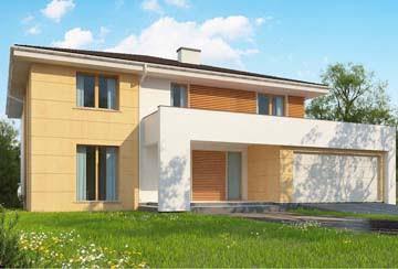 Проект дома из блоков АСД-1840