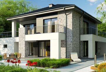 Проект дома из блоков АСД-1841