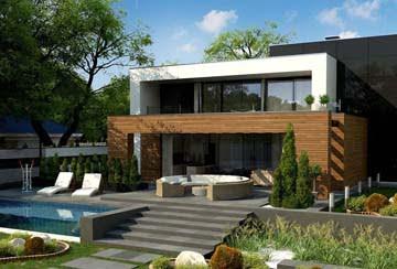 Проект дома из блоков АСД-1843