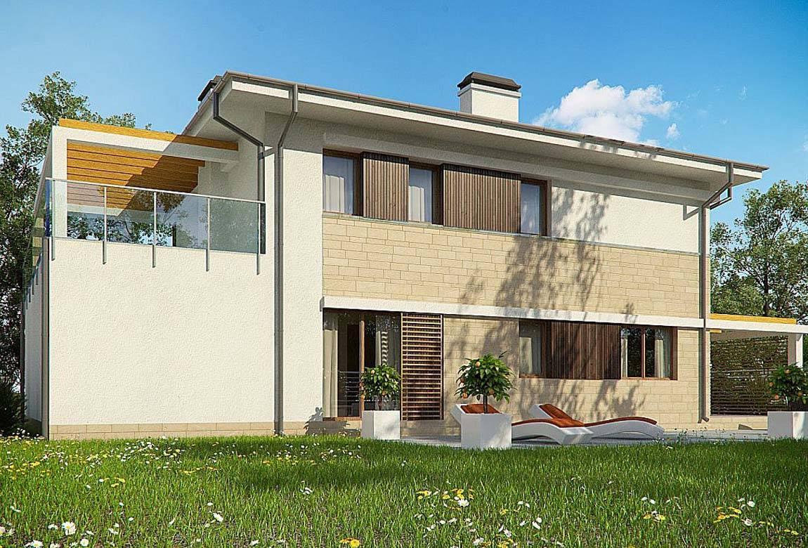 Проект дома из блоков АСД-1848 (uploads/gss/goods/869/big_3.jpg).