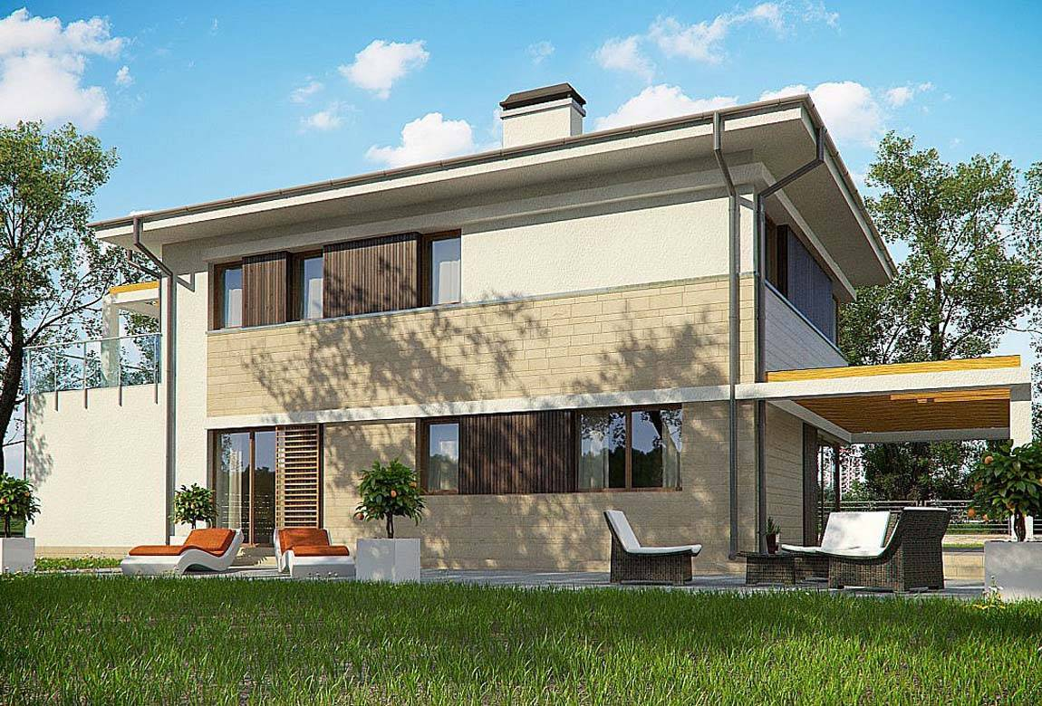 Проект дома из блоков АСД-1848 (uploads/gss/goods/869/big_4.jpg).