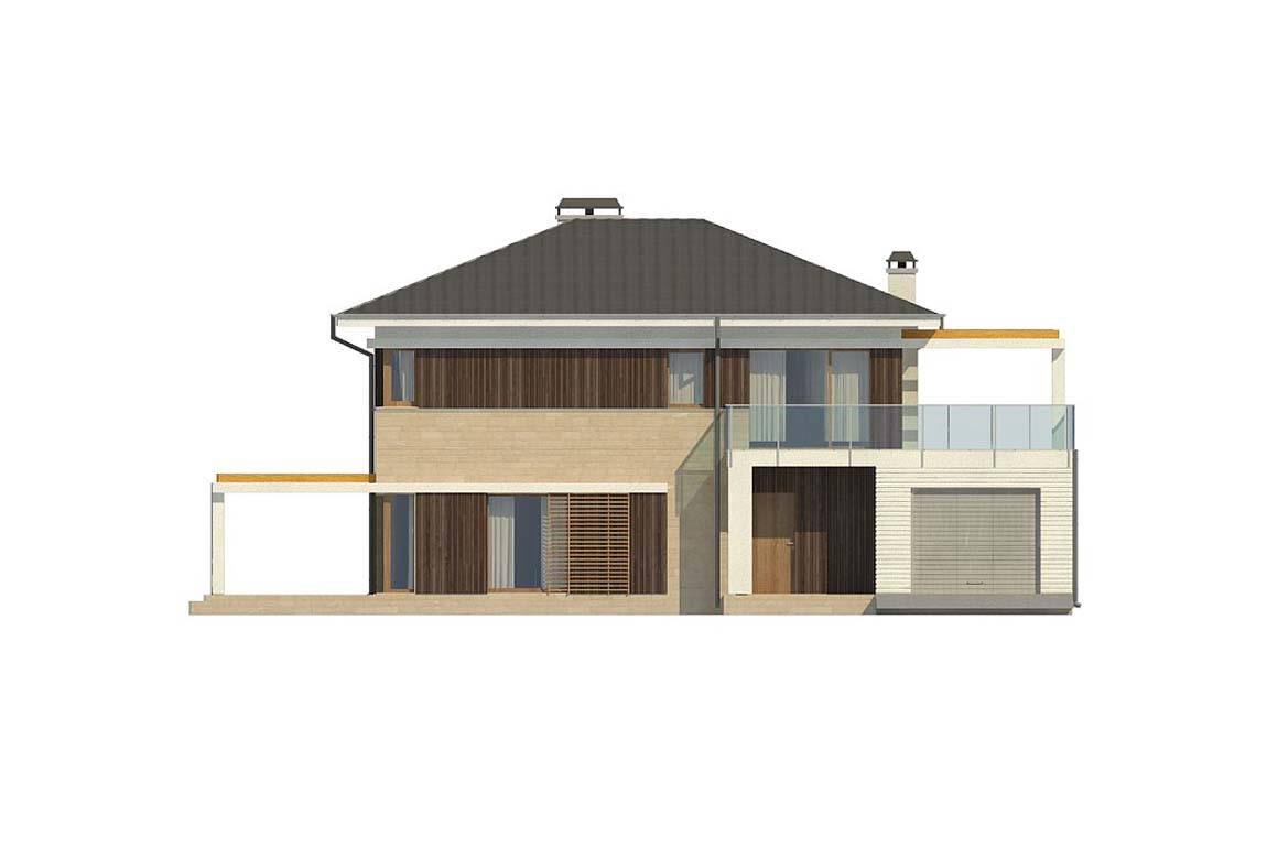 Проект дома из блоков АСД-1848 (uploads/gss/goods/869/big_5.jpg).