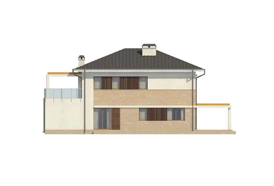 Проект дома из блоков АСД-1848 (uploads/gss/goods/869/big_6.jpg).