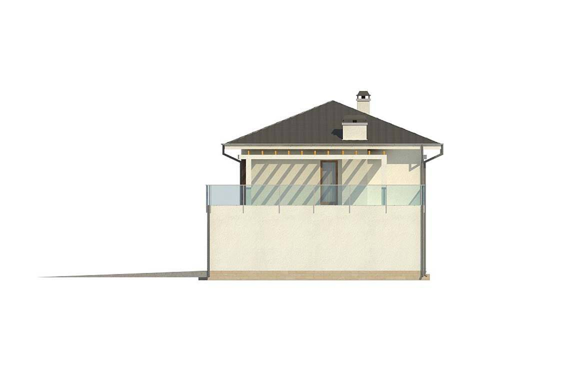 Проект дома из блоков АСД-1848 (uploads/gss/goods/869/big_7.jpg).