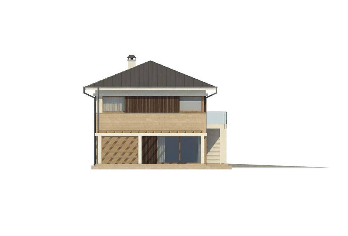 Проект дома из блоков АСД-1848 (uploads/gss/goods/869/big_8.jpg).