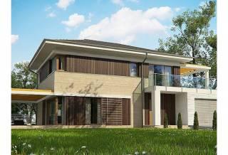 Проект дома из блоков АСД-1848 (uploads/gss/goods/869/thumb_1.jpg).