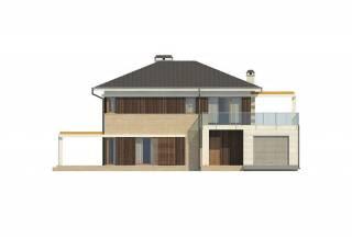Проект дома из блоков АСД-1848 (uploads/gss/goods/869/thumb_5.jpg).
