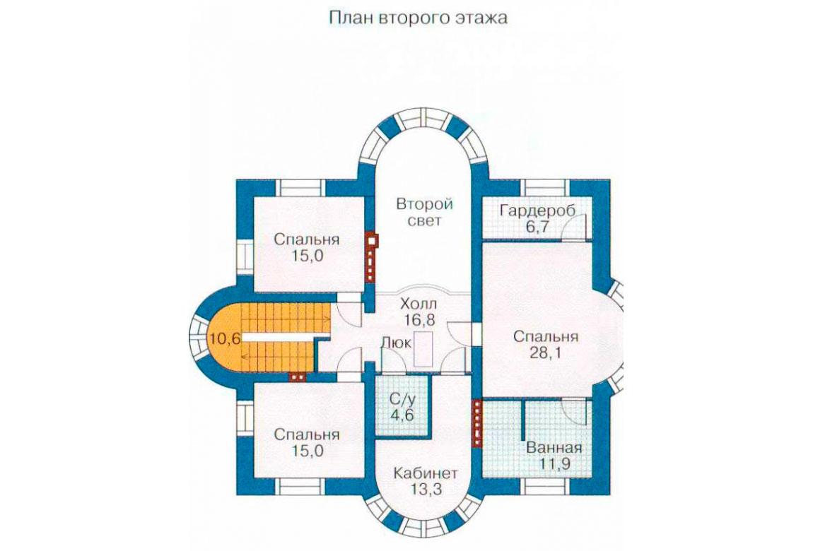 План N1 проекта ВИП дома АСД-1087