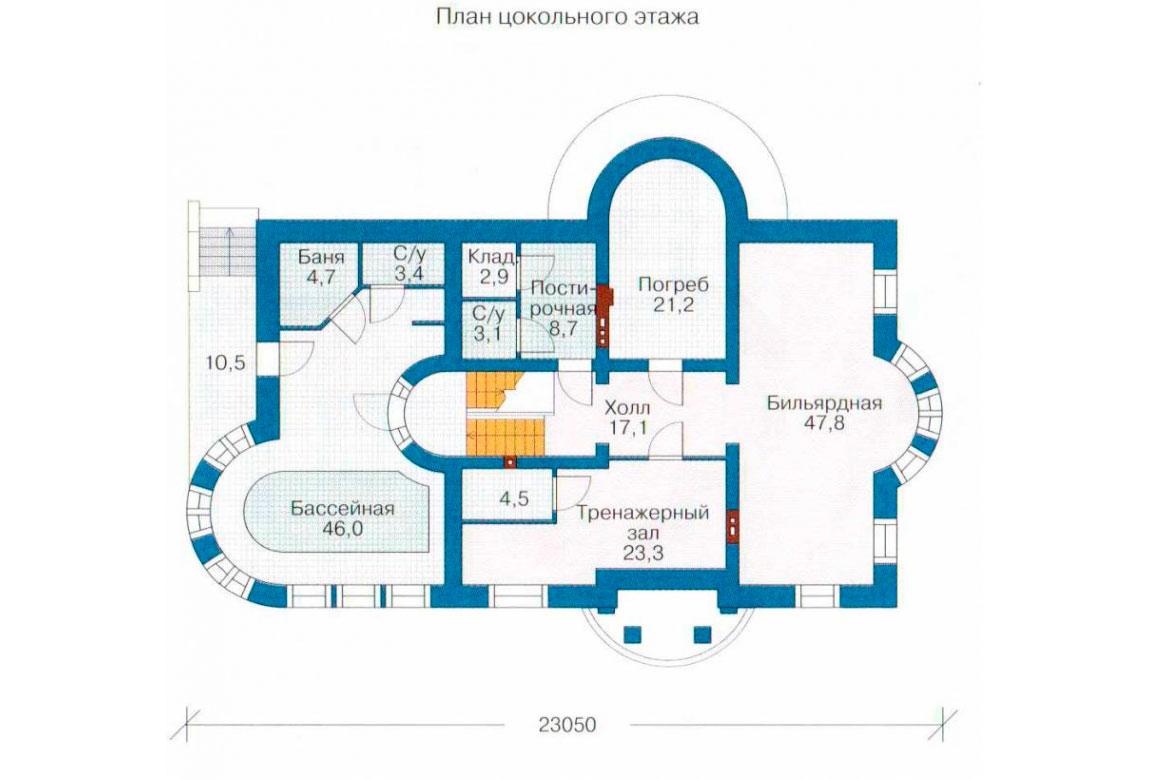 План N3 проекта ВИП дома АСД-1087
