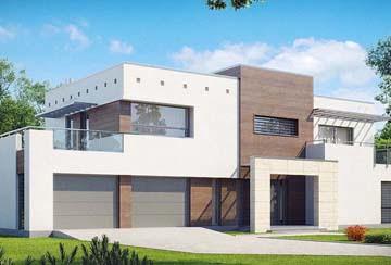 Проект дома из блоков АСД-1849
