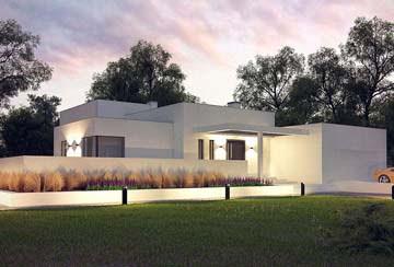 Проект дома из блоков АСД-1851