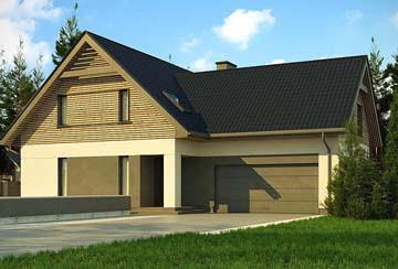 Проект дома из блоков АСД-1852