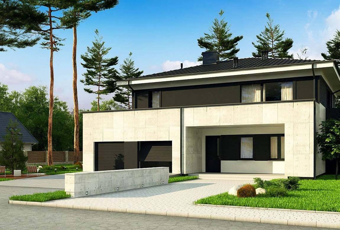 Проект дома из блоков АСД-1854 (uploads/gss/goods/875/big_1.jpg).