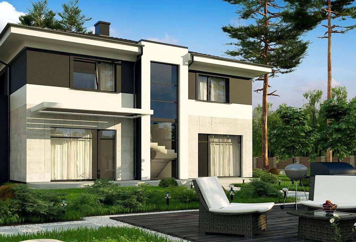 Проект дома из блоков АСД-1854 (uploads/gss/goods/875/big_2.jpg).