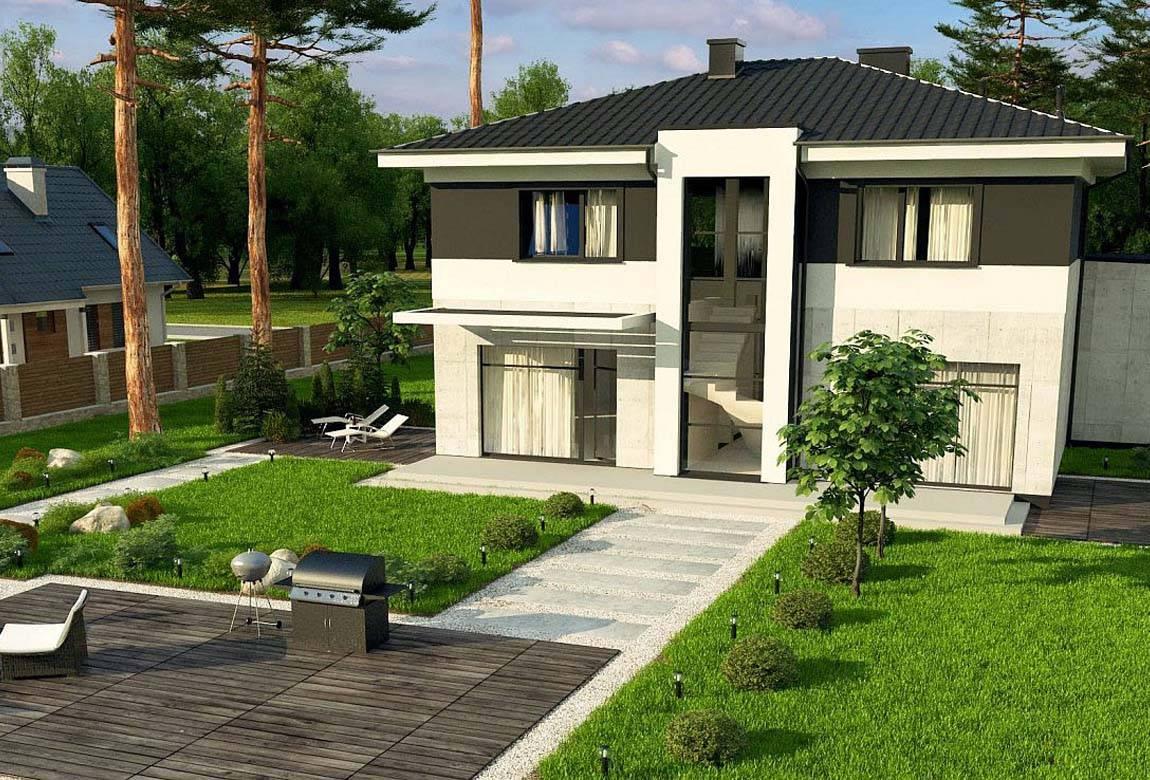 Проект дома из блоков АСД-1854 (uploads/gss/goods/875/big_4.jpg).