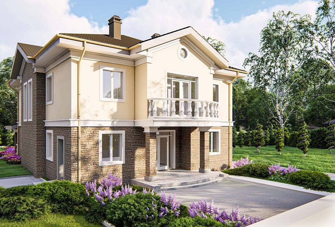 Проект дома из блоков АСД-1857 (uploads/gss/goods/878/big_1.jpg).