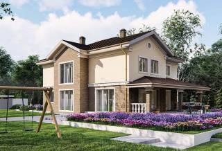 Проект дома из блоков АСД-1857 (uploads/gss/goods/878/thumb_3.jpg).