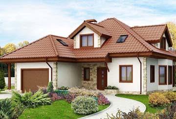 Проект дома из блоков АСД-1858