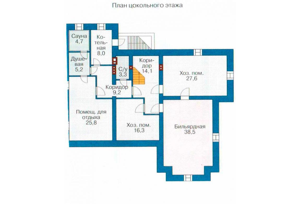 План N1 проекта ВИП дома АСД-1088