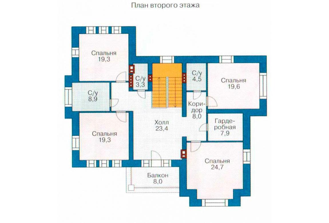 План N3 проекта ВИП дома АСД-1088